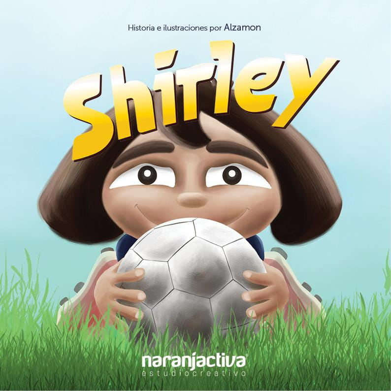Shirley comic pilot - Alzamon - Children's Illustration by Alberto Gonzalez