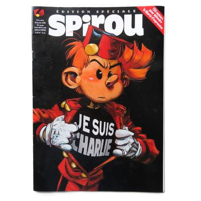 Spirou Magazine Je Suis Charlie Edition - cover