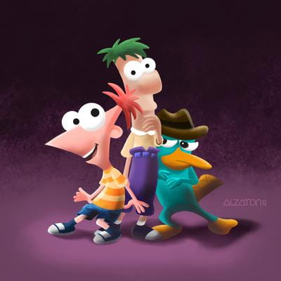 Fan Art: Phineas & Ferb