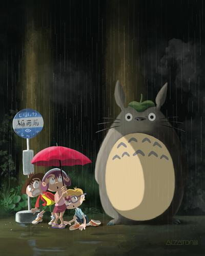 Fan Art: My Neighbor Totoro